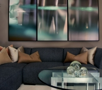 Abstract Photography in Modern Interiors