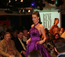 Miami's Rene Ruiz Fashion Show Aboard the Oceania Cruise Ship Regatta