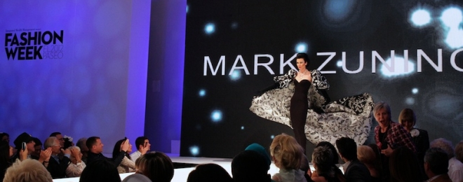 Future Glamour Fashions of Mark Zunino — Fashion Week El Paseo