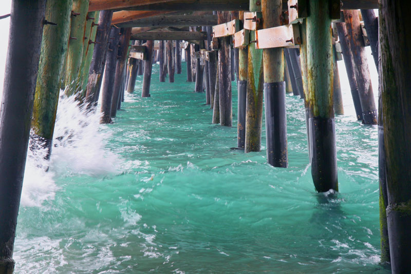 Abstract Photo Under The Pier Beaches Series MGPicascio