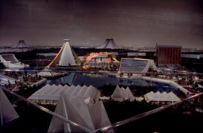 Logan's Run futuristic city