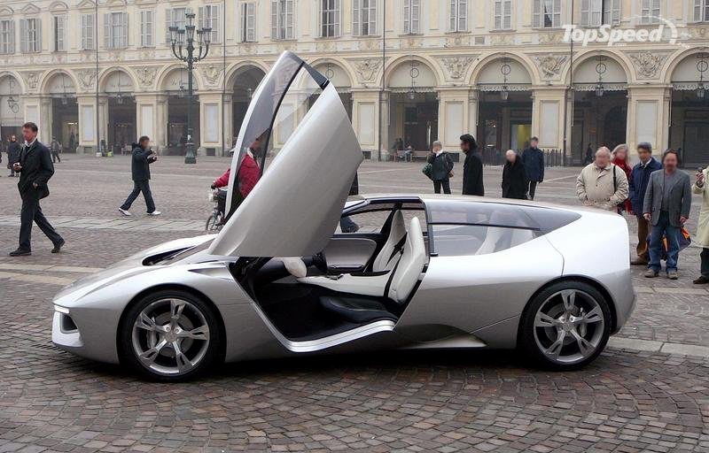 2008 Pininfarina Sintesi Open Doors