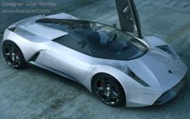 Lamborghini Insecta Arial View