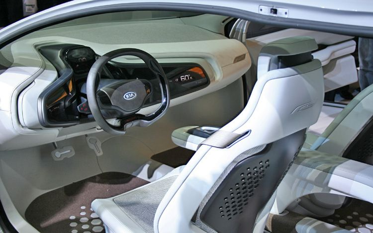 ia Ray Plug in Hybrid Concept Interior