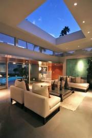 Modern Desert interiors with an inside outside relationship