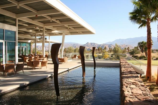 Esena Club House with desert views