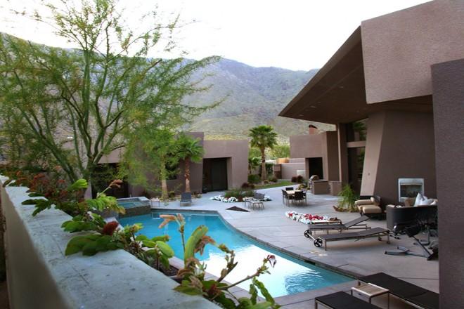 Unusual, unique desert home at Alta in Palm Springs, CA