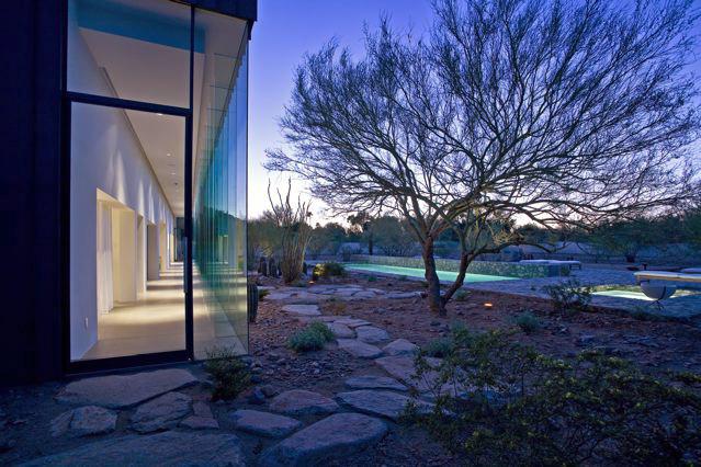 Modern luxury in the desert