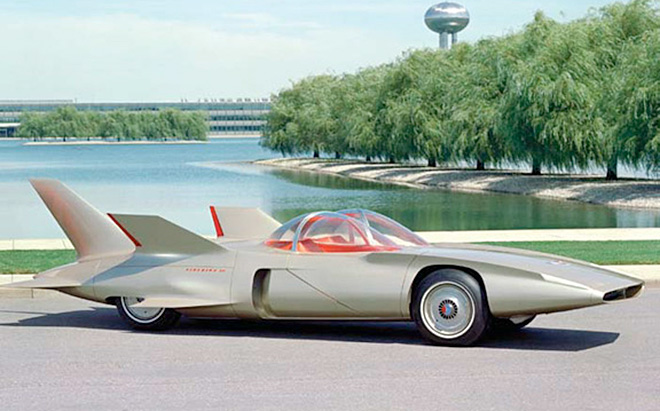 1962 GM Space Age Firebird Concept Car