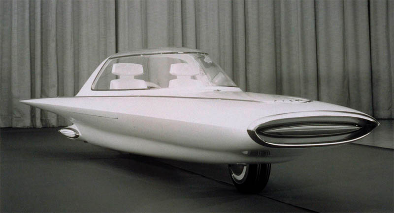 961 Ford Gyron Futuristic Concept Car