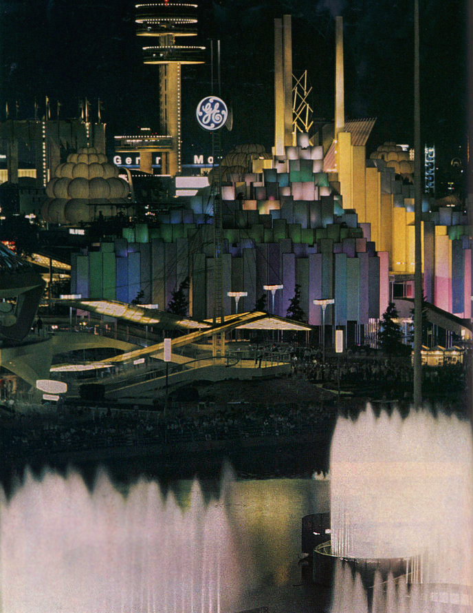 General Electric Tower of Light, 1964 Worlds Fair