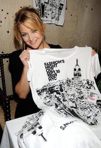 Kate Hutson at Fashion's Night Out