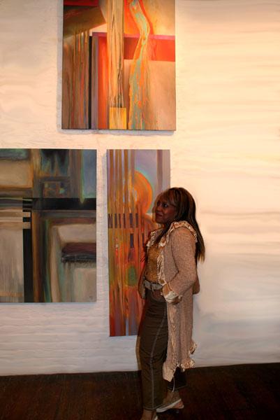 Modern abstract art by MGPicascio at Ward-Nasse Gallery
