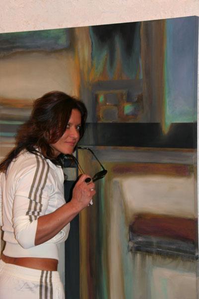 French art buyer, original art by Mark G. Picascio