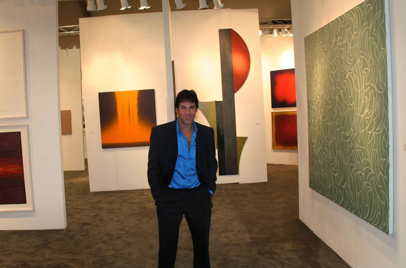 Modern Art MGPicascio Art Miami Photo by Sandra Scidm