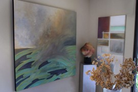 Modern Art, Horizons End and Plan View, paintings by MGPicascio