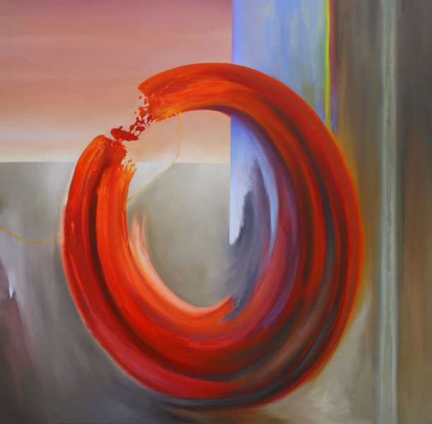 Modern Art Momentum, abstract painting by Mark G. Picascio