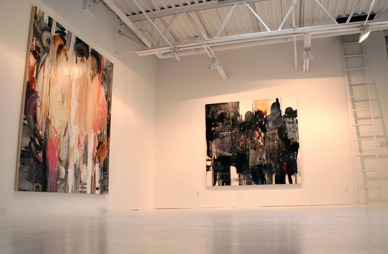 Modern Art New York Gallery large scale paintings