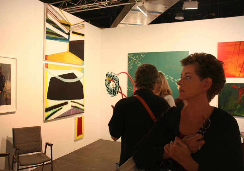 Modern art at Art Basel Miami Beach Gallery