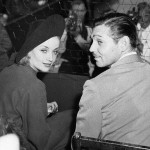 Clark Gable and Carole Lombard.