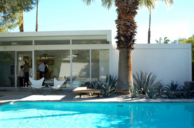 Donald Wexler steel house - Modernism Week in Palm Springs, CA