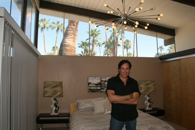 Light filled rooms from soaring ceilings, Palm Springs, CA