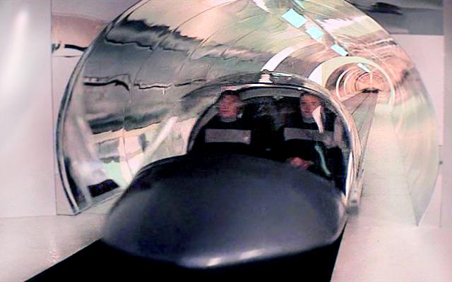 Futuristic transportation in Logans Run