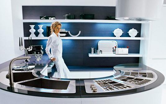 Integra U shaped modern- kitchen