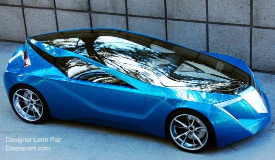 Acura futuristic car design