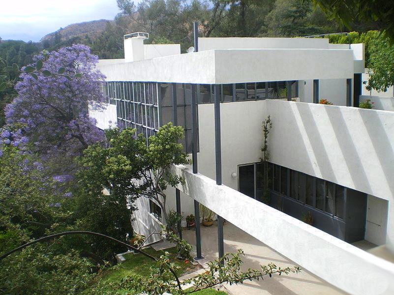 The Lovell House (1929) by architect, Richard Neutra