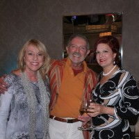 Braniff Airlines guests at Cocktail reception, Palm Springs, Ca, Modernism Week, 2011.