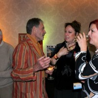 Braniff Airlines cocktail reception party, Riviera Hotel, Palm Springs, CA, 2011.
