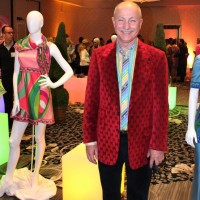 Oscar Chamudes, Braniff Airlines Fashion Exhibit, Palm Springs, CA, Modernism Week, 2011.