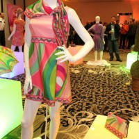 Braniff Airlines Hostess 1960's fashions, Palm Springs, Modernism Week, 2011.