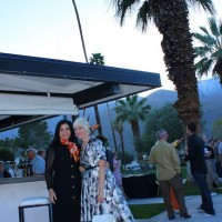 Annalisa Capurro, Australia Modern lecture speaker, Horizon Hotel pool party, Modernism week, 2011, Palm Springs, CA,