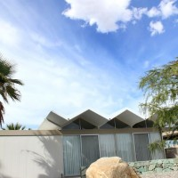 Architect Donald Wexler's steel House, Palm Springs Modernism Week, 2011.