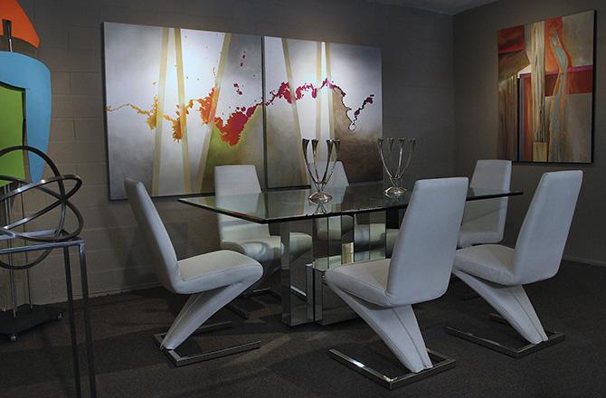 Swank Interiors loft gallery