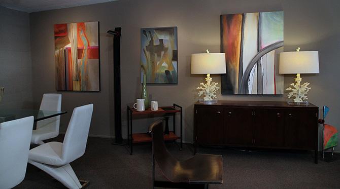 loft gallery at Swank Interiors