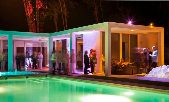 The Party, Modernism Week 2012 Palm Springs. Photo by MGPicascio.com.
