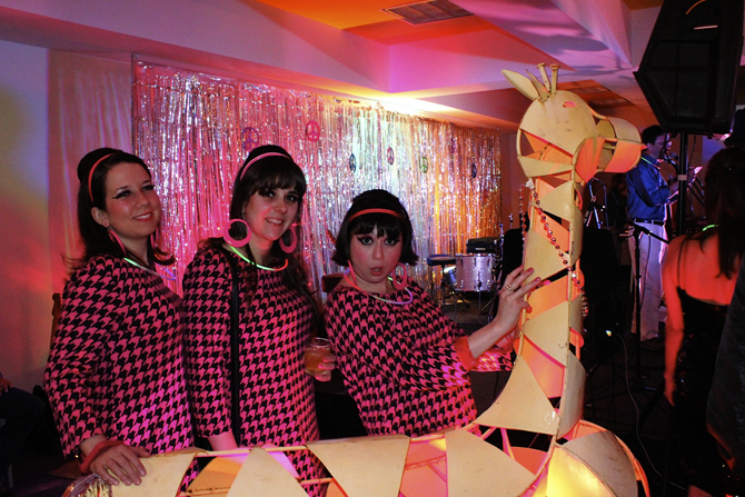 The Damselles, Modernism Week 2012, Photo by MGPicascio.com