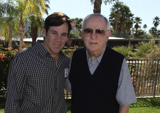 Mark G. Picascio with Donald Wexler, AIA at the 2013 Palm Springs Modernism Week