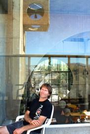 Jeff Buderer at Arcosanti