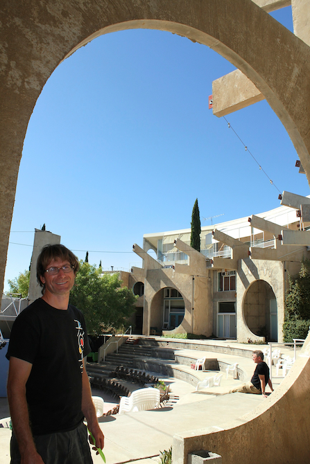 Jeff Buderer at Arcosanti Colly Soleri Music Center